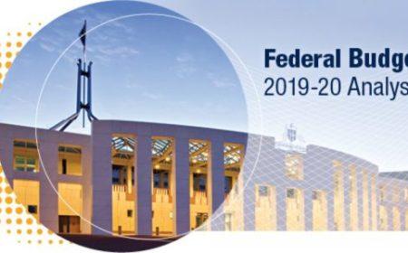 Federal Budget 2019