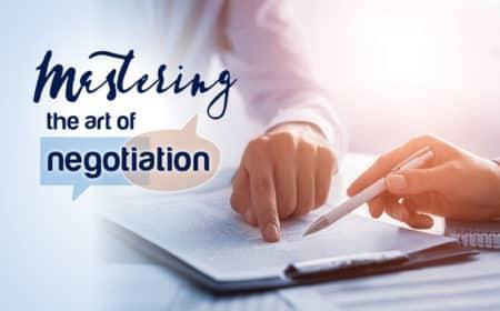 Mastering the art of negotiation